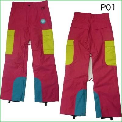P01 ウェア プレイ スノーウェア パンツ 09-10モデル GLI PANT スノーボード パンツ