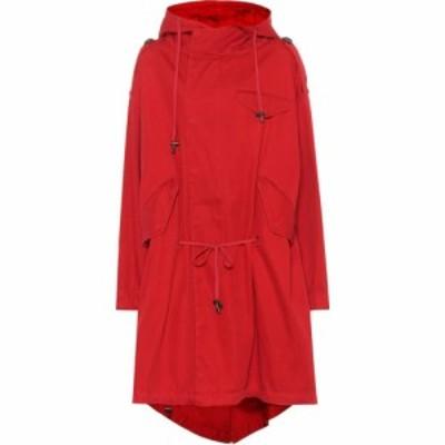 イザベル マラン Isabel Marant. Etoile レディース コート アウター Duffy cotton twill coat Red