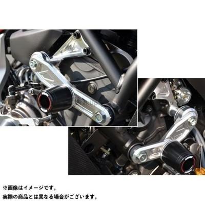 【無料雑誌付き】アグラス MT-07 レーシングスライダー サブフレームタイプスライダーφ50+エンジンハンガー カラー:ジュラコン/ホワイト タイ…