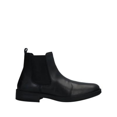 DOCKSTEPS ショートブーツ ブラック 40 革 ショートブーツ