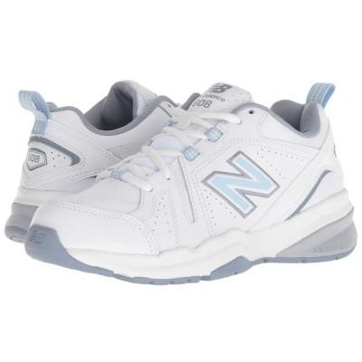 ニューバランス New Balance レディース スニーカー シューズ・靴 WX608v5 White/Light Blue