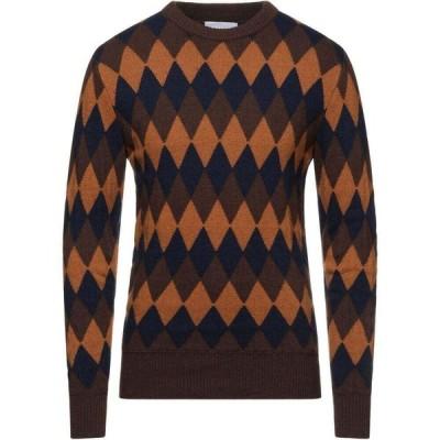 オフィチーナ トレンタ セイ OFFICINA 36 メンズ ニット・セーター トップス Sweater Brown