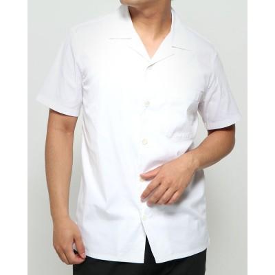 リネーム Rename オープンカラー半袖シャツ (ホワイト)