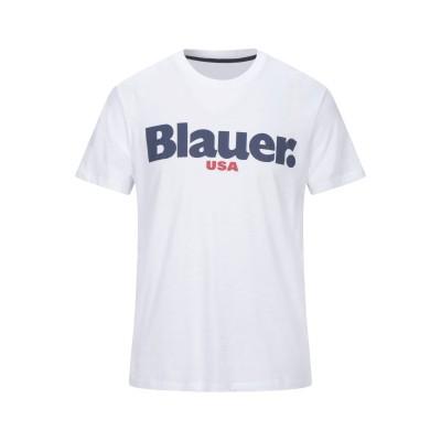 ブラウアー BLAUER T シャツ ホワイト XS コットン 100% T シャツ