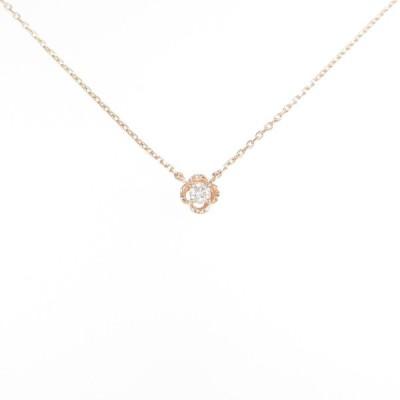 4゜C ダイヤモンドネックレス