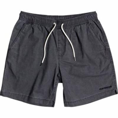 クイックシルバー Quiksilver メンズ ショートパンツ ボトムス・パンツ Taxer Elasticized Short Black