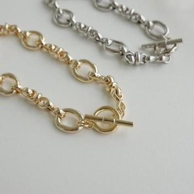 picknfit レディース ブレスレット Ronin the Ring Line Chain Bracelet