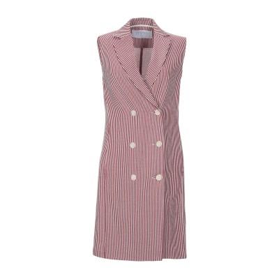 ハリス・ワーフ・ロンドン HARRIS WHARF LONDON ミニワンピース&ドレス ボルドー 42 コットン 100% ミニワンピース&ドレス