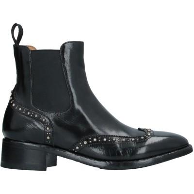 OFFICINE CREATIVE ITALIA ショートブーツ ブラック 36 革 ショートブーツ