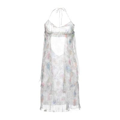 ICE B ICEBERG ミニワンピース&ドレス ホワイト 42 シルク 100% ミニワンピース&ドレス