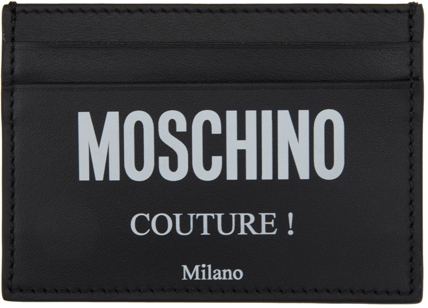 """Moschino 黑色 Fantasy Print """"Couture""""卡包"""
