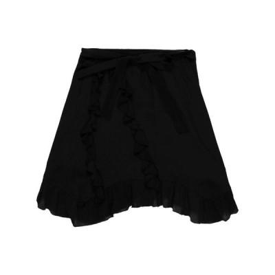 IRO ひざ丈スカート  レディースファッション  ボトムス  スカート  ロング、マキシ丈スカート ブラック