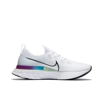 ナイキ メンズ スニーカー シューズ Nike Running React Infinity flyknit sneakers in white White