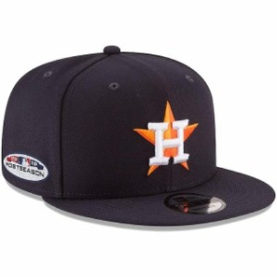 New Era ニュー エラ スポーツ用品  New Era Houston Astros Navy 2018 Postseason Side Patch 9FIFTY Adjustable Hat