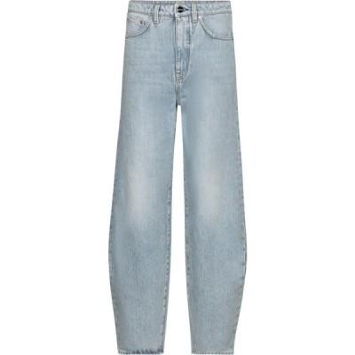 トーテム Toteme レディース ジーンズ・デニム ボトムス・パンツ high-rise barrel-leg jeans Light Blue