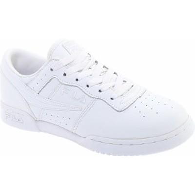 フィラ メンズ スニーカー シューズ Men's Fila Original Fitness 11F16LT Sneaker Triple White