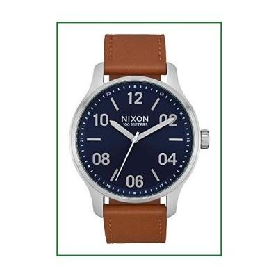 Nixon Patrol 腕時計 standard size ネイビー/サドル