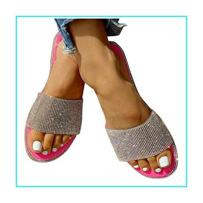 Gibobby Sandals for Women Wide Width,Women's Sandals 2020 Comfy Platform Shoes Crystal Summer Beach Shoes Slipper Flip Flops【並行輸入品】