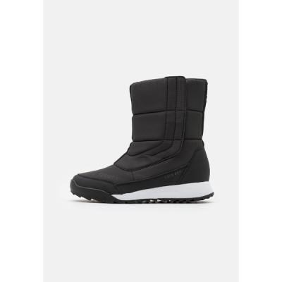 アディダス ブーツ&レインブーツ レディース シューズ TERREX COLD.RDY SHOES - Winter boots - core black/footwear white/grey four