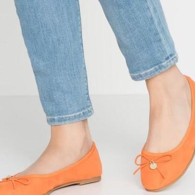 レディース パンプス Ballet pumps - orange