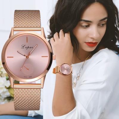 ☆2018新作☆ レディース 腕時計 フォーマル ファッション アクセサリー クオーツ メッシュステンレス ギフト 女性 #006