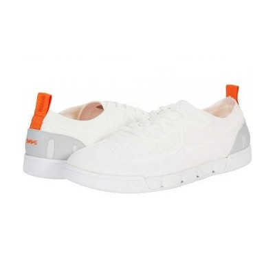 SWIMS スイムズ メンズ 男性用 シューズ 靴 スニーカー 運動靴 Breeze Flex Tennis - White