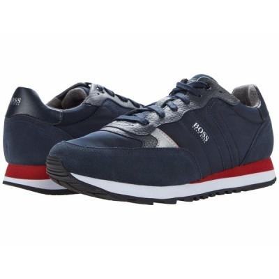 ヒューゴボス スニーカー シューズ メンズ Parkour Sneakers Dark Blue