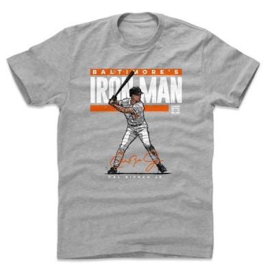オリオールズ Tシャツ カル・リプケン MLB Iron Man T-Shirt 500Level ヘザーグレー