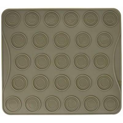 cotta グレーシリコン マカロンマット(27個取) グレー 約29×25.8×H0.3cm 83393