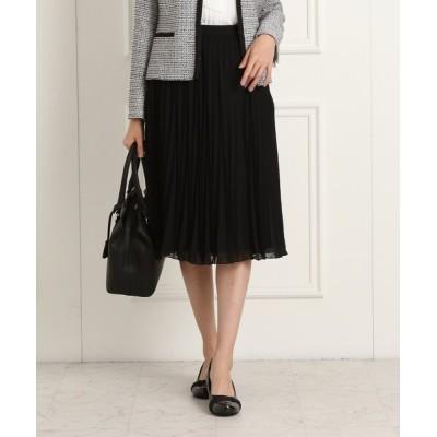 Reflect / 【フォーマル/入卒/ママスーツ】プリーツシフォンスカート WOMEN スカート > スカート