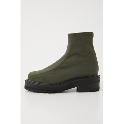 (SLY/スライ)STRETCH TANK SOLE ブーツ/レディース KHA