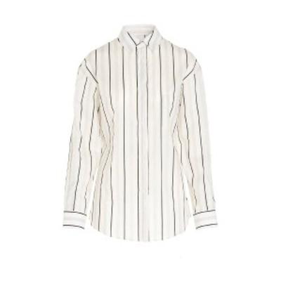 MAISON MARGIELA/メゾン マルジェラ White/Black Stripes shirt レディース 春夏2020 S51DL0328S52582001F ju