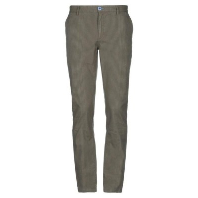 FRED MELLO チノパンツ ファッション  メンズファッション  ボトムス、パンツ  チノパン グリーン