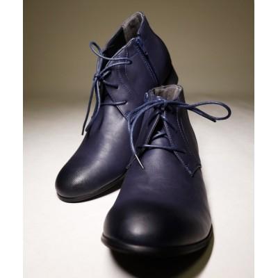 FUNALIVE / 【DEDES】ファスナー付きチャッカーブーツ MEN シューズ > ブーツ