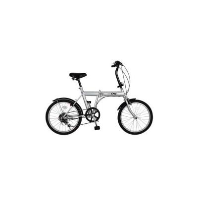 折りたたみ自転車 ミムゴ ACTIVE911 ノーパンクFDB20 6S 折りたたみ自転車 クレジットカード決済のみ 20インチ シルバー