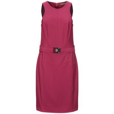 VERSACE JEANS ミニワンピース&ドレス ガーネット 44 ポリエステル 94% / ポリウレタン 6% ミニワンピース&ドレス