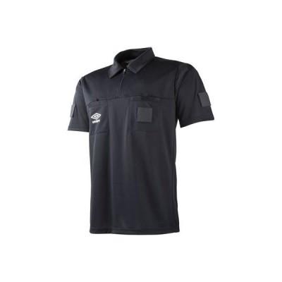 (アンブロ)UMBRO サッカー 半袖レフリーシャツ UAS6608 [ユニセックス] BLK SS-S