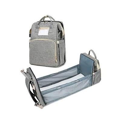 静かのショップ マザーズバッグ 大容量 防水 ママバッグ 保温ポケット付き マザーズリュック 赤ちゃんのベッ?