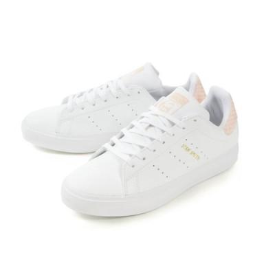 adidas(アディダス) STAN SMITH VULC J(スタンスミスバルカ ジュニア) EG7291 ホワイト/ピンク SALE!! 交換返品ラッピング不可