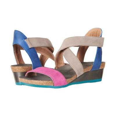 Naot ナオト レディース 女性用 シューズ 靴 ヒール Vixen - Pink Plum Nubuck/Oily Blue Nubuck