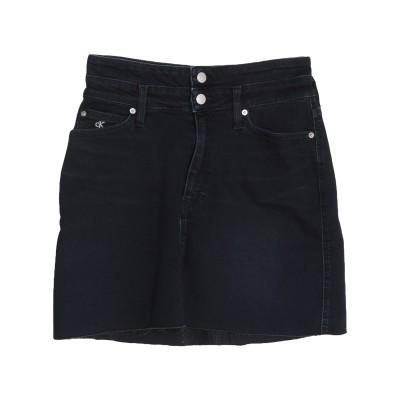 YOOX - CALVIN KLEIN JEANS デニムスカート ブルー 28 コットン 98% / ポリウレタン 2% デニムスカート