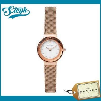 Skagen SKW2799 スカーゲン 腕時計 アナログ LEONORA レディース ホワイト ローズゴールド
