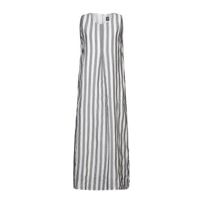 イレブンティ ELEVENTY ロングワンピース&ドレス ホワイト 40 コットン 100% ロングワンピース&ドレス