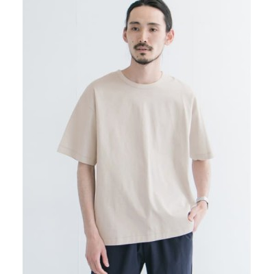 (URBAN RESEARCH/アーバンリサーチ)シルケットポンチTシャツ/メンズ ICE/GRAY