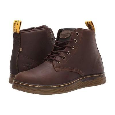 ドクターマーチン Ledger Steel Toe SD メンズ ブーツ Dark Brown/Dark Brown/Dark Brown/Dark Brown