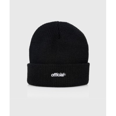 ability / OFFICIAL オフィシャル / Everyday Official Beanie ロゴ刺繍 ニットキャップ OF20-9000 OF20-9001 OF20-9002 MEN 帽子 > ニットキャップ/ビーニー