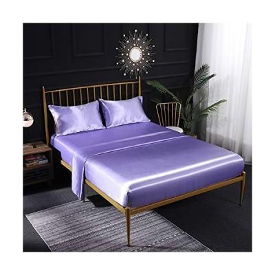 海外限定 ZRONGQF King Bed Sheet Set Super Soft Microfiber Bedding Set Wrinkle & Fade Resistant Sheet Set Hotel Quality with Deep Pocket