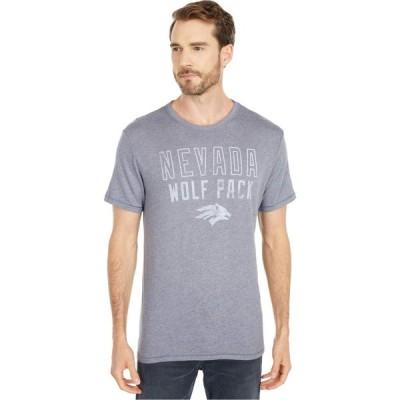 チャンピオン Champion College メンズ Tシャツ トップス Nevada Wolf Pack Keeper Tee Vintage Navy