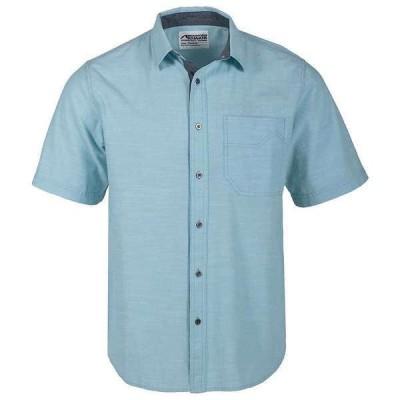 マウンテンカーキス メンズ ハーフパンツ・ショーツ ボトムス Mountain Khakis Men's Phelps Short Sleeve Woven Classic Fit Shirt