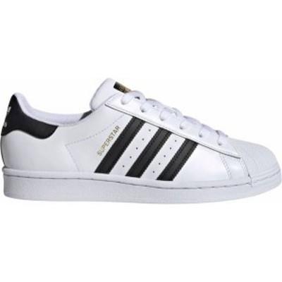 アディダス レディース スニーカー シューズ adidas Originals Women's Superstar Shoes Black/White